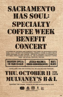 Sacramento Has Soul: Specialty Coffee Week Benefit Concert