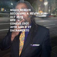 Ngaio Bealum Album Recording