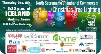 North Sacramento Chamber S Christmas Tree Lighting Presented