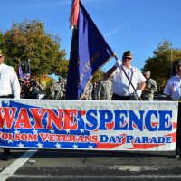 Wayne Spence Folsom Veterans Day Parade