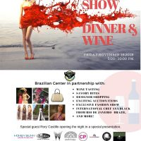 Brazilian Center Fashion Show, Dinner, and Wine Event