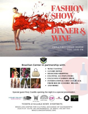Brazilian Center Fashion Show, Dinner, and Wine Ev...
