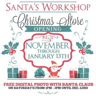 Santa's Coming to Town Christmas Store