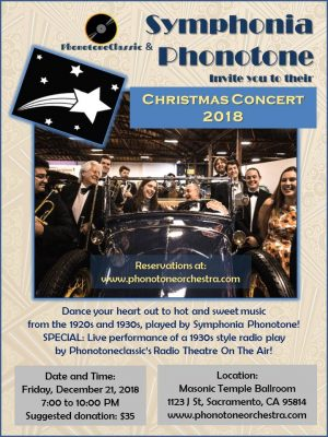 Symphonia Phonotone Christmas Concert