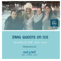 Drag Queens on Ice at the Downtown Sacramento Ice Rink