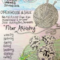 Sacramento Weavers' and Spinners' Guild Open House