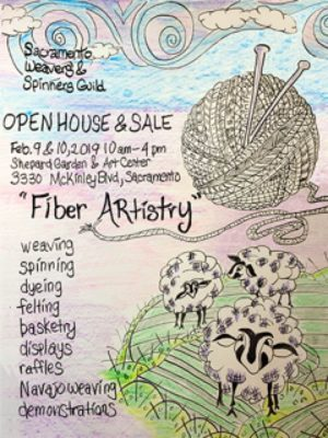 Sacramento Weavers' and Spinners' Guild Open House...