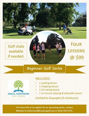 Ancil Hoffman Golf Course Beginner Golf Series (Ja...