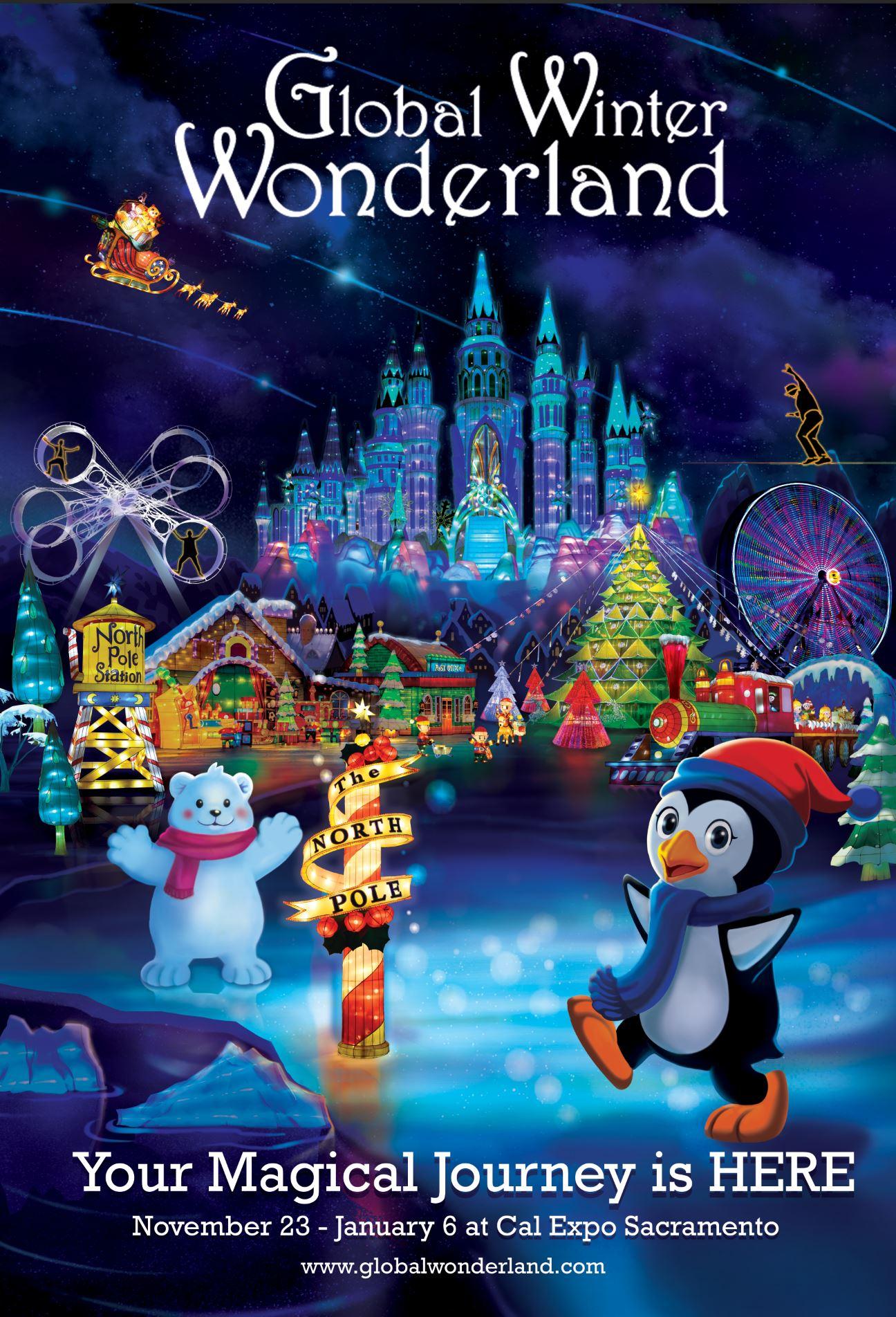 Cal Expo Christmas Lights.Global Winter Wonderland 2018 Presented By International