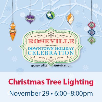 Christmas Tree Lighting, Sponsored by AutoNation