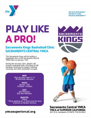 Sacramento Kings Basketball Clinic