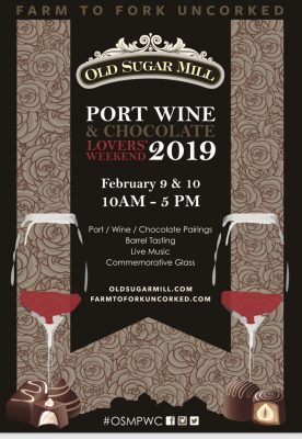 Port Wine and Chocolate Lovers' Weekend 2019
