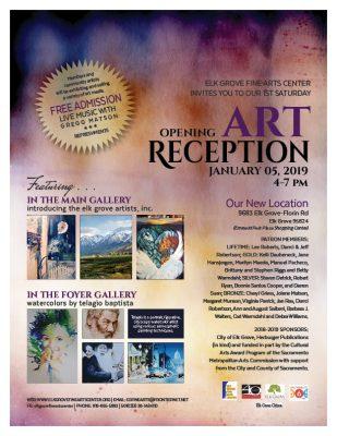 Elk Grove Fine Arts Center: Opening Art Reception