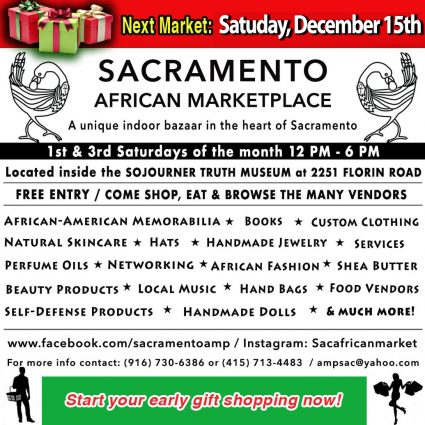 Sacramento African Marketplace Presented By Sojourner Truth