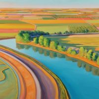 New Landscape Paintings by Phil Gross