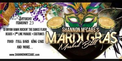 Shannon McCabe's Mardi Gras Masked Ball