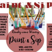 Rendez-vous Winery Paint and Sip