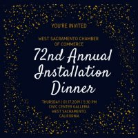 West Sacramento Annual Installation and Awards Dinner