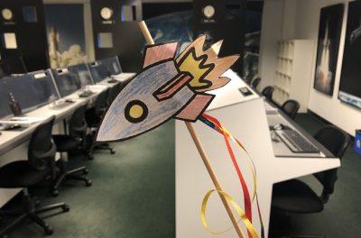 Create and Take: Rocket on a Stick