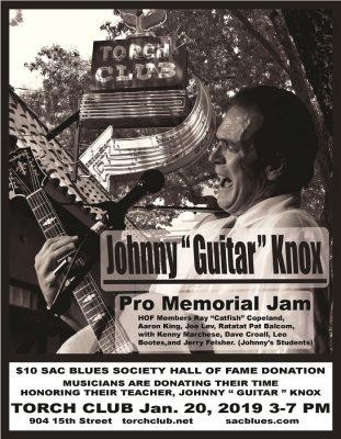 Johnny Knox Pro Memorial Jam: Sac Blues Society Ha...
