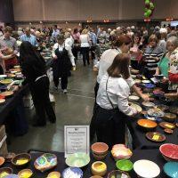 River City Food Bank's Empty Bowls 2019