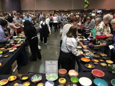River City Food Bank's Empty Bowls 2019