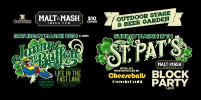 Malt & Mash St. Patrick's Day Block Party Weekend