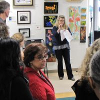 Open Fine Art Competition Show Reception