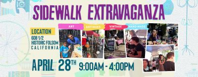 Spring Sidewalk Extravaganza