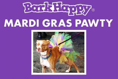 BarkHappy Sacramento Mardi Gras Pawty