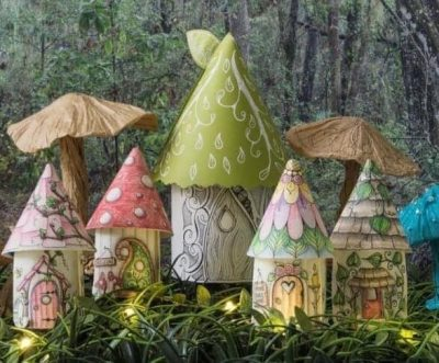 Fairy Houses at the Koobs Nature Area