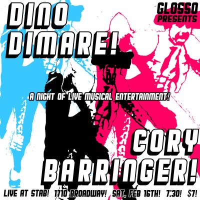 Glosso presents Dino Dimare and Cory Barringer