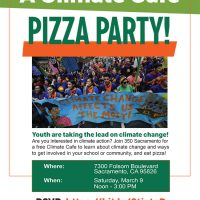 Climate Cafe Pizza Party