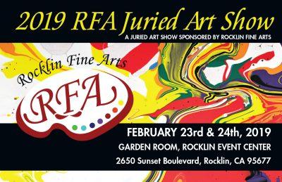 Rocklin Fine Arts 2019 Juried Art Show