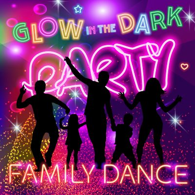 Glow in the Dark Party Family Dance