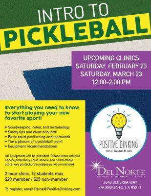 Intro to Pickleball