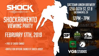 Shockramento Viewing Party