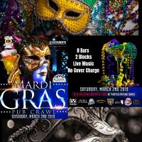 Sacramento Mardi Gras Party and Pub Crawl