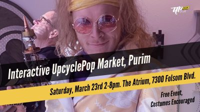 Upcycle Pop: Interactive Purim Market