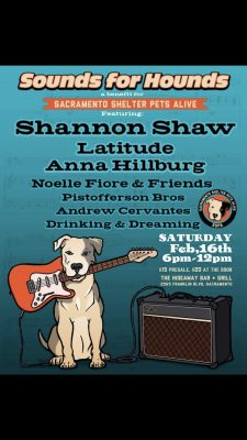 Sounds For Hounds Benefit Concert