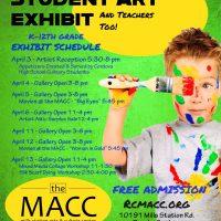 Rancho Cordova Student Art Exhibit