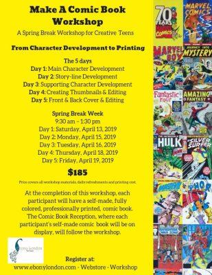 Make-A-Comic Book Workshop