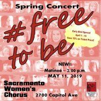 Sacramento Women's Chorus: Free to Be