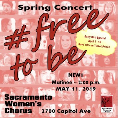 Sacramento Women's Chorus: Free to Be