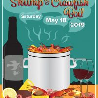 Shrimp and Crawfish Boil 2019 (Sold Out)