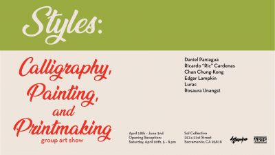 Styles: Calligraphy, Painting, and Printmaking Art Show