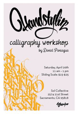 Handstylin' Calligraphy Workshop