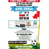 Epic Open FootGolf Tournament