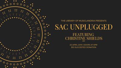 Sac Unplugged: Christine Shields