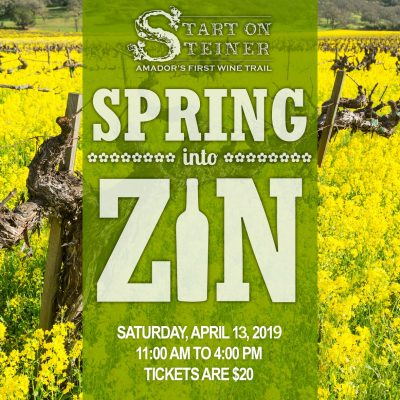 Spring into Zin Hosted by Steiner Road Wineries